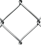 Galvanized Diamond Mesh